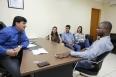 Cleiton Roque recebe prefeito de São Felipe para tratar da liberação de emendas