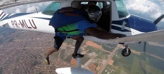 Escola considera possibilidade de mal súbito em paraquedista que morreu no último sábado