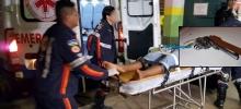 Menor é desarmado e esfaqueado pela vítima durante roubo a residência em Porto Velho