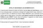 Governo prorroga até dia 14 prazo de inscrições para o concurso da Sepog