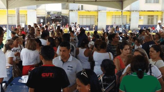 Trabalhadores na educação entram em greve nesta quinta-feira na Capital