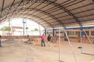 Aélcio da TV fiscaliza obras de suas emendas nas escolas da Zona Leste
