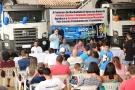 Ezequiel Júnior prestigia entrega de caminhões caçambas em Machadinho do Oeste
