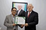 Airton Gurgacz entrega Voto de Louvor pelos 24 anos do Jornal Diário da Amazônia