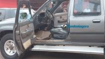 Homem é baleado no pescoço dentro de caminhonete em Porto Velho