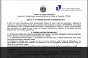 Exclusivo: Confira edital do concurso do Iperon com salários de até R$ 4.475,71 mais benefícios