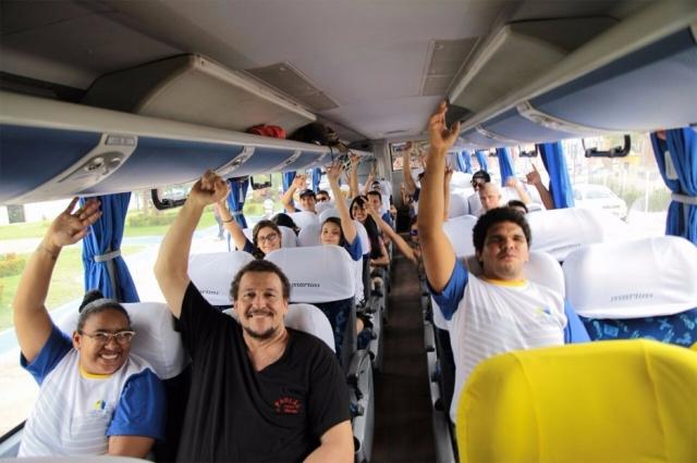 Atletas de Porto Velho embarcam para disputar os Jogos Intermunicipais de Rondônia