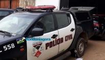 Jovem é preso após furtar residência do tio e ser flagrado usando roupa da vítima