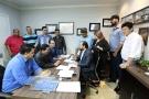 Laerte Gomes se reúne com autoridades de diversos municípios de Rondônia
