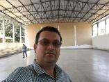Quadra coberta no Ceeja em Machadinho está em fase conclusiva, afirma Ezequiel Junior