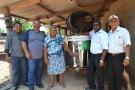Produtores de leite são beneficiados com tanque resfriador em Pimenta Bueno