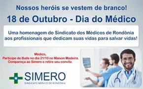 Homenagem do Sindicato dos Médicos de Rondônia