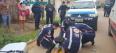 Criminoso é atingido com tiro por PM após roubo de celular na capital; fotos