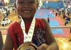 Atleta de Rondônia de seis anos conquista três medalhas em campeonato nacional de Taekwondo
