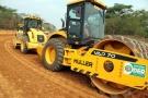 Começa fase final do asfaltamento do Anel Viário de Ji-Paraná