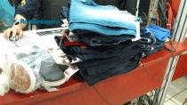 Fugitivo quebra porta de loja e rouba roupas