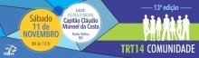 TRT Comunidade será realizado na Zona Sul de Porto Velho em novembro