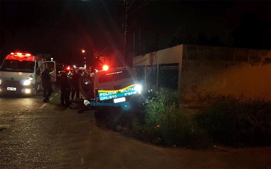 Jovem morre após ser atropelada por viatura da PM durante perseguição