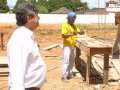 Cahulla vistoria obras da nova Ciretran de Guajará-Mirim