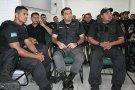 Agentes penitenciários e policiais participam de treinamento tático do Bope
