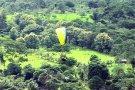 Piloto comemora milésimo vôo duplo de parapente em Rondônia
