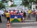 Em Brasília, dirigentes do Sindsef participam de ato público
