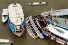 Sobe para 15 número de mortos em naufrágio no AM, diz Marinha