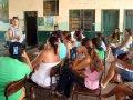 Direção do Sintero visita escolas em Extrema e Nova Califórnia