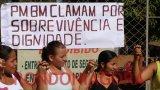 Mulheres de policiais reafirmam que protestos só param após negociação
