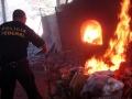 Polícia Federal incinera 1 tonelada de entorpecentes apreendidos em RO