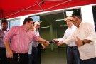 Cassol e Jardim inauguram ampliação de Ciretran em Cacoal