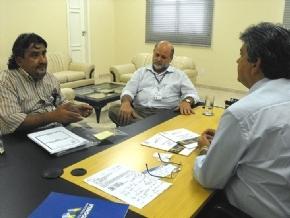 Representantes da Unesco apresentam projetos ao vice-governador