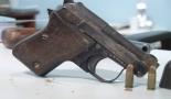 Polícia apreende pistola usada por matador de Pizzano