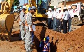 Obras de saneamento serão concluídas em fevereiro de 2010