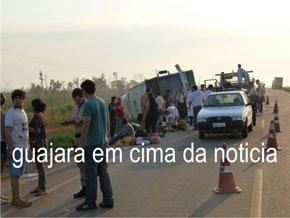 Mulher morre em grave acidente na estrada para Guajará-Mirim