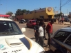 Dupla é presa com moto roubada na Capital