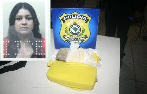 Mulher presa com dois quilos e meio de cocaína; acusada disse que receberia R$ 2 mil