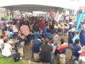 Servidores lotam Praça Getúlio Vargas e contestam alegações do Governo
