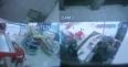 VÍDEO: AGENTE PENITENCIÁRIO E ASSALTANTE MORREM EM TROCA DE TIROS DURANTE ASSALTO EM PANIFICADORA