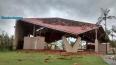 Novo temporal causa mais destruição em Porto Velho