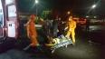 Adolescente colide em mureta ao fugir da polícia com moto roubada