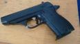PM encontra simulacro de pistola em lixeira do Parque do Bosque