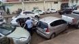 Acidente envolve quatro veículos no centro da capital