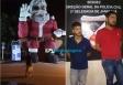 Irmãos de Porto Velho tentam incendiar Papai Noel em Ji-Paraná e são presos; vídeo