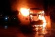 Criminosos incendeiam ônibus e atiram em presídio em Rondônia