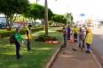 Prefeitura realiza mutirão de limpeza nas principais vias