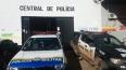 Apenado é levado à Central de Flagrantes após ser encontrado com drogas em presídio