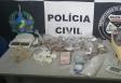 Trio que comandava boca de fumo no Bairro Cuniã é preso pelo Denarc