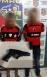 PM a paisana aprende adolescentes com arma de brinquedo durante tentativa de assalto