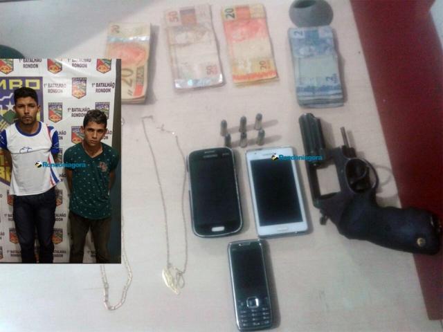 Apenados do semiaberto são detidos roubando mercado na Zona Sul